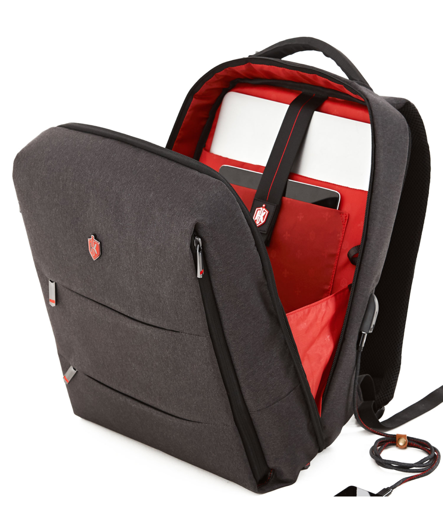 Krimcode Business Formal Notebook Backpack – KBFB06-1NDGM – Detail 12
