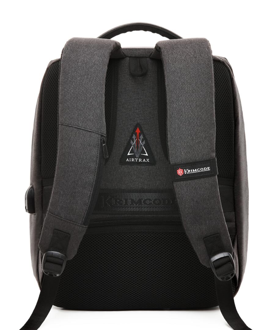 Krimcode Business Formal Notebook Backpack – KBFB06-1NDGM – back