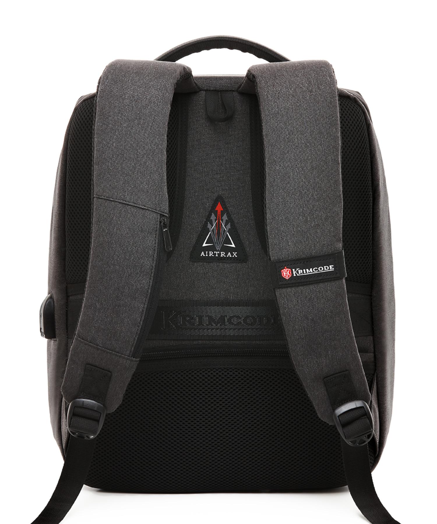 krimcode formal backpack back view