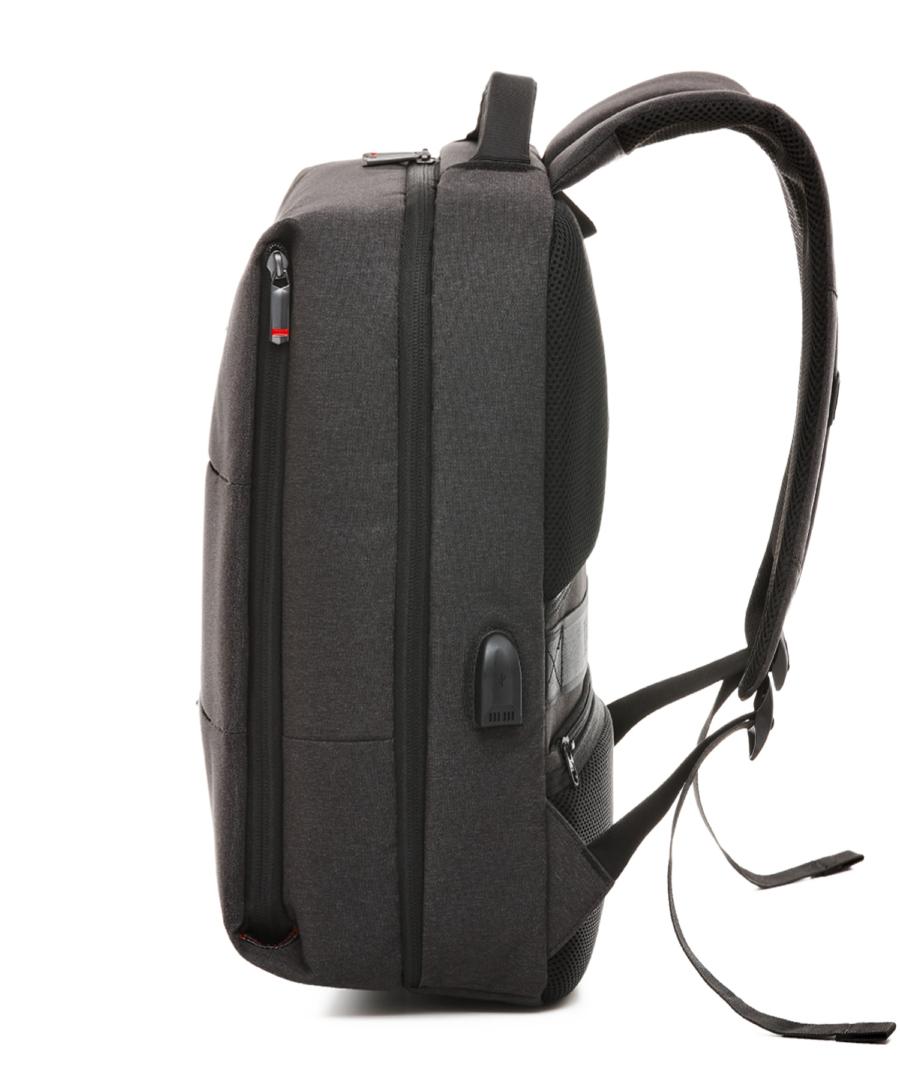 Krimcode Business Formal Notebook Backpack – KBFB06-1NDGM – left