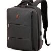 Krimcode Business Formal Backpack - Dark Grey 19L - KBFB06-1NDGM - Front View