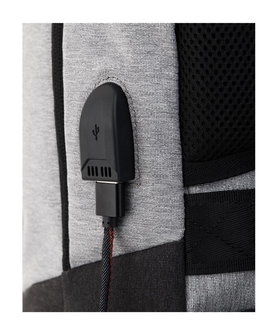 Krimcode Business Formal Notebook Backpack – KBFB07-1NLGM – Detail 1