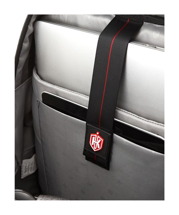 Krimcode Business Formal Notebook Backpack – KBFB07-1NLGM – Detail 3