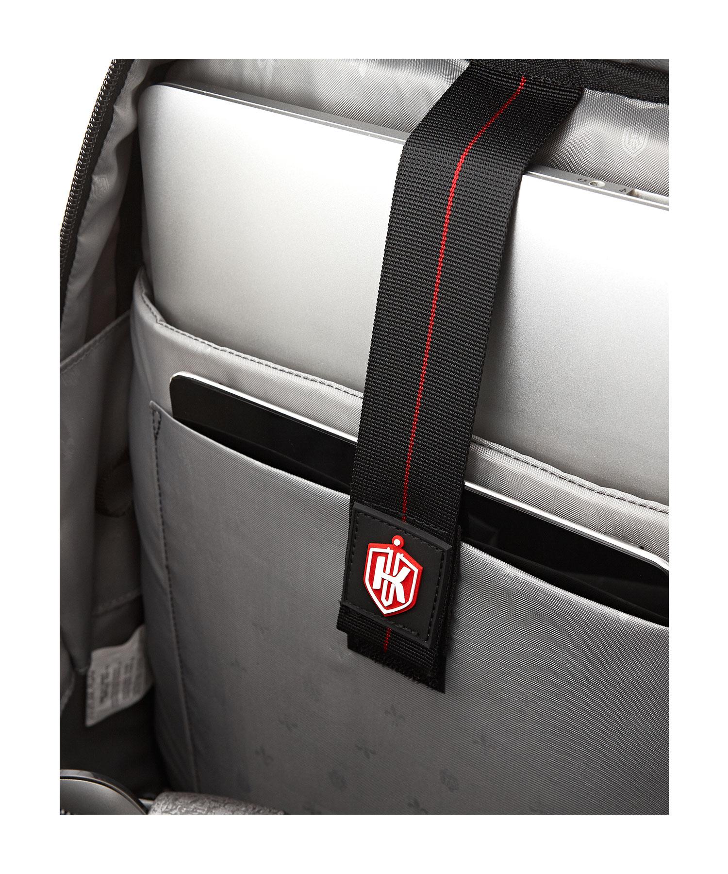 formal backpack laptop holder with strap