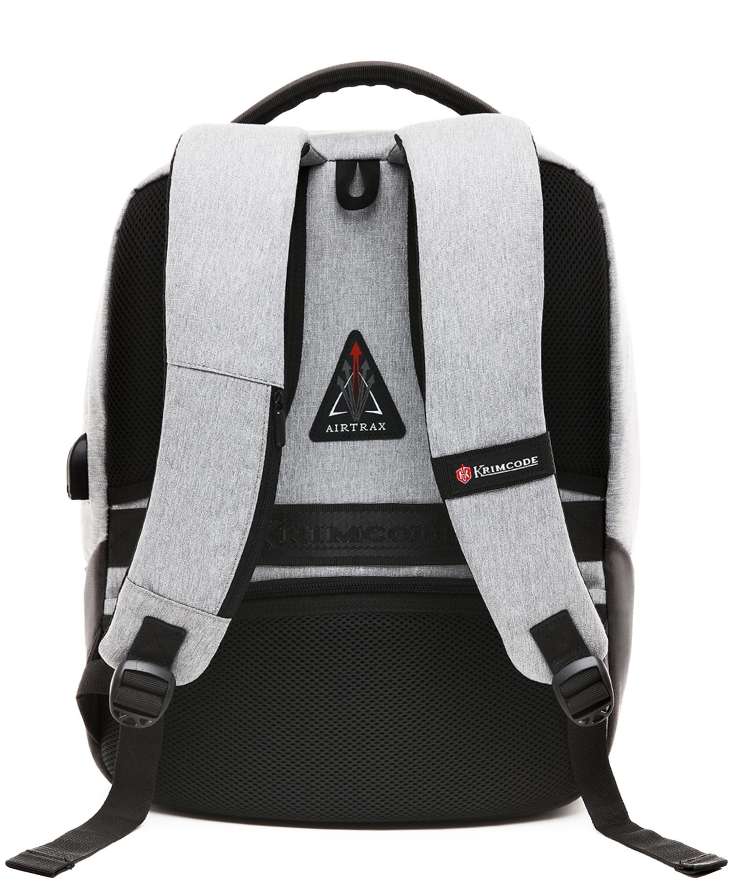 formal backpack back