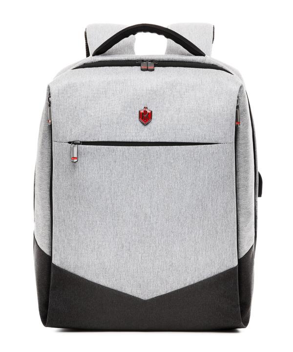 Krimcode Business Formal Notebook Backpack – KBFB07-1NLGM – front