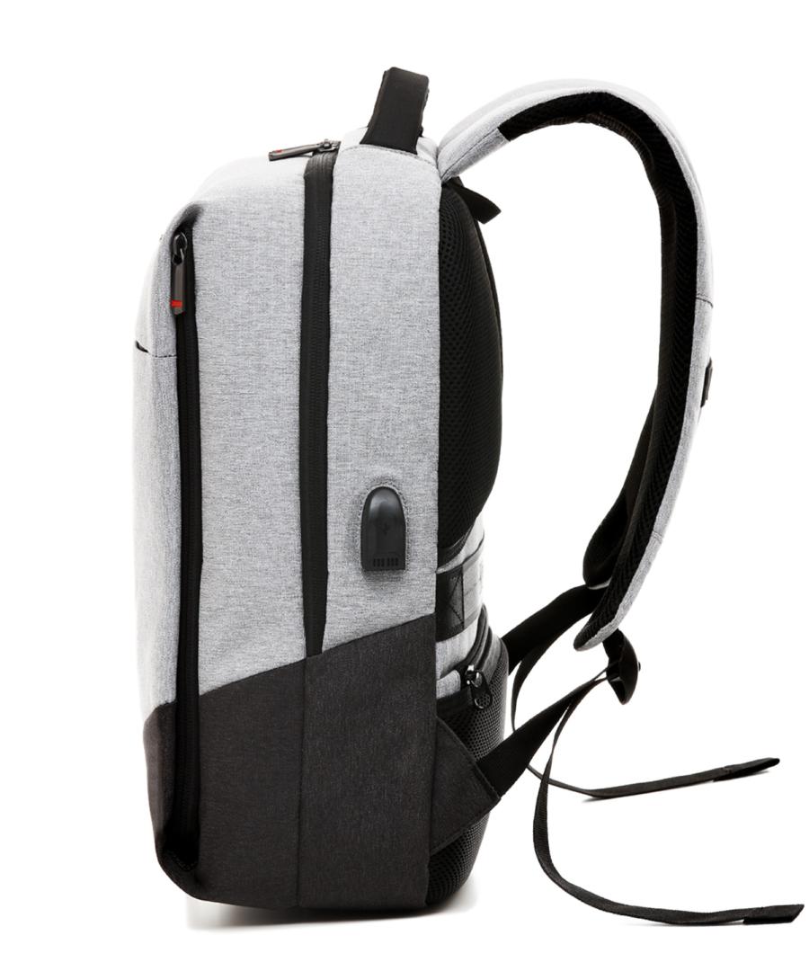 Krimcode Business Formal Notebook Backpack – KBFB07-1NLGM – left
