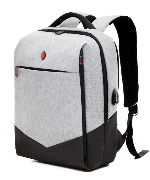 Krimcode Business Formal Notebook Backpack – KBFB07-1NLGM – perspective