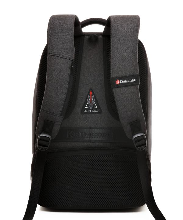 Krimcode Business Formal Notebook Backpack – KBFB15-1NDGM – Back