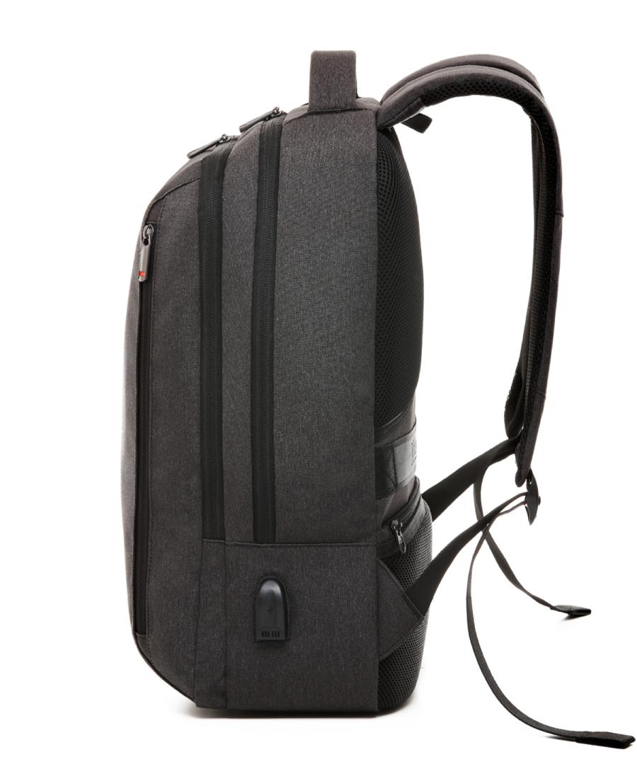 Krimcode Business Formal Notebook Backpack – KBFB15-1NDGM – Left