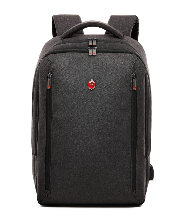 Krimcode Business Formal Notebook Backpack – KBFB15-1NDGM – front