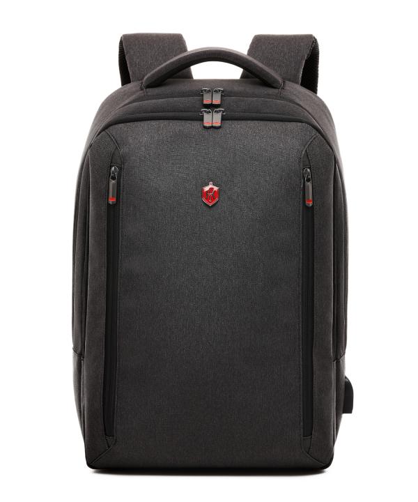 Krimcode Business Formal Notebook Backpack – KBFB15-1NDGM – front