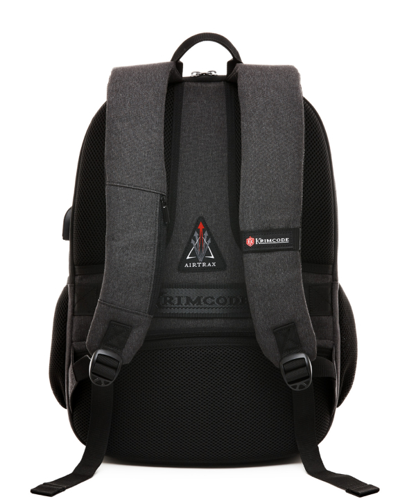 Krimcode Business Formal Notebook Backpack – KBFB22-1NDGM – back