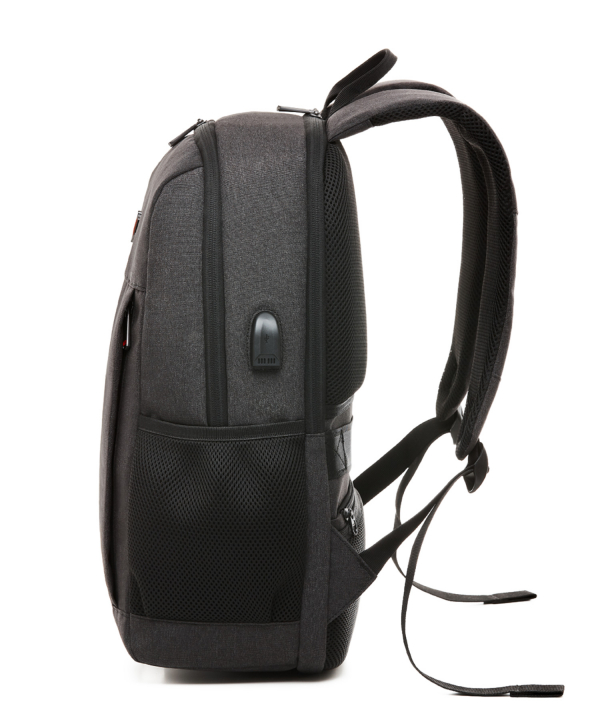 Krimcode Business Formal Notebook Backpack – KBFB22-1NDGM – left
