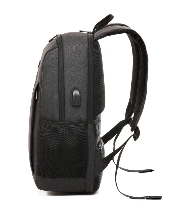 Krimcode Business Formal Notebook Backpack – KBFB22-1NDGM – left