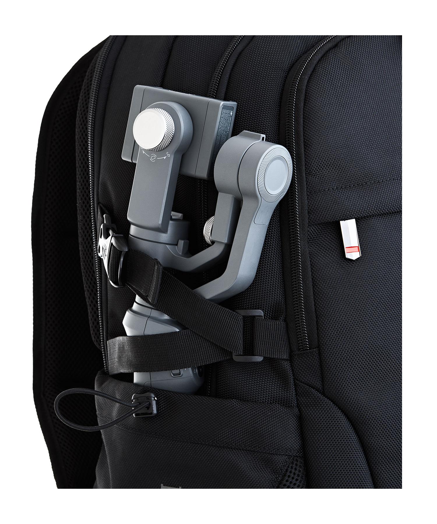 business backpack side pocket