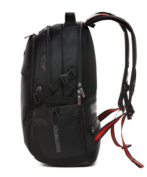 Krimcode Business Formal Notebook Backpack – KSCB03-1U0SM – left