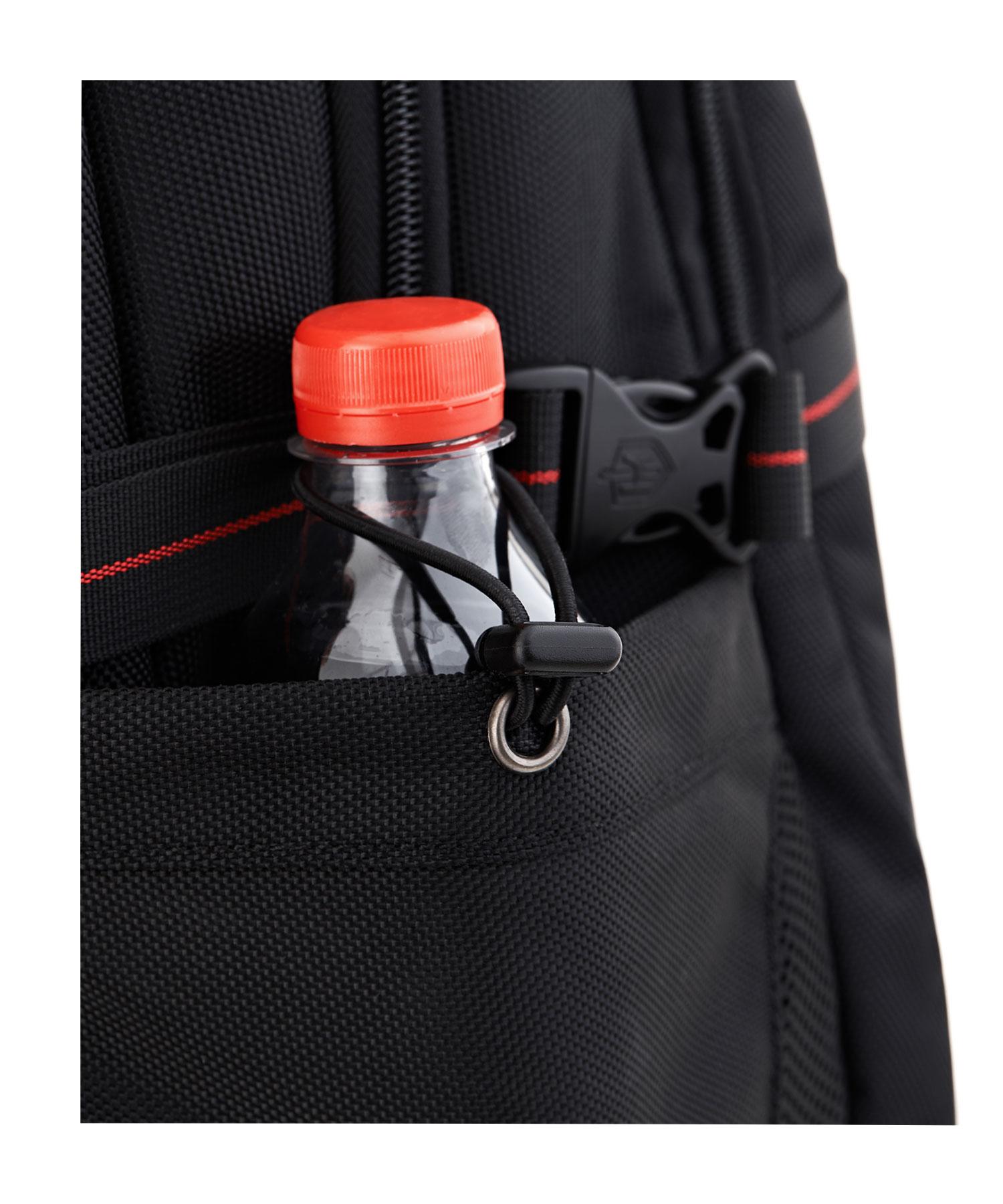 krimcode backpack bottle holder pocket
