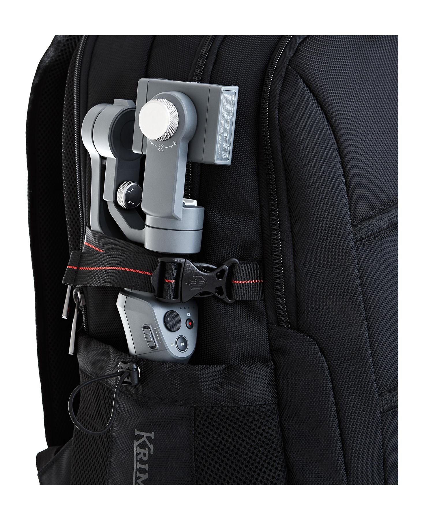 krimcode backpack side pocket