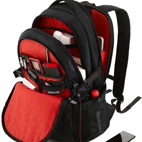 krimcode business formal backpack all compartments