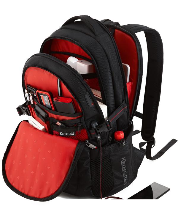 Krimcode Business Formal Notebook Backpack – KSCB08-1U0SM – Detail 3