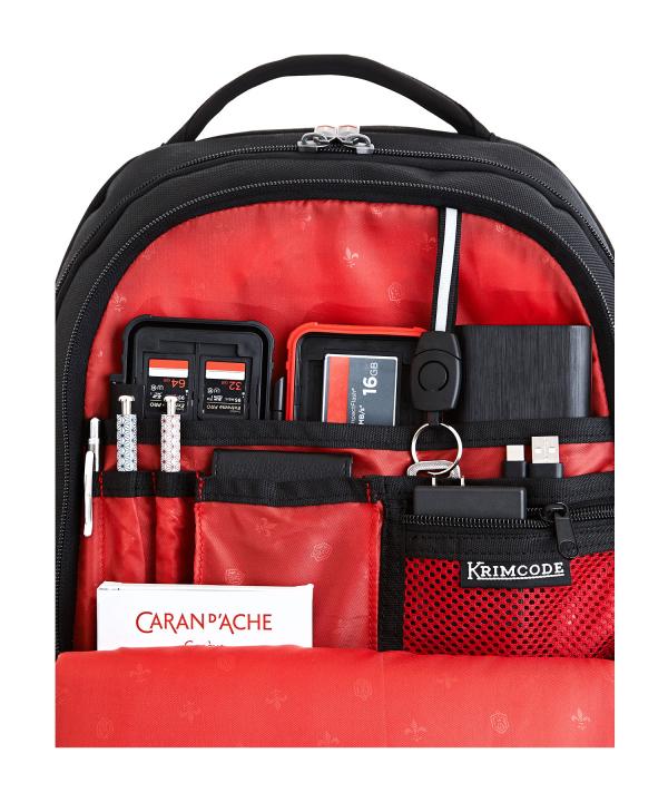 Krimcode Business Formal Notebook Backpack – KSCB08-1U0SM – Detail 4