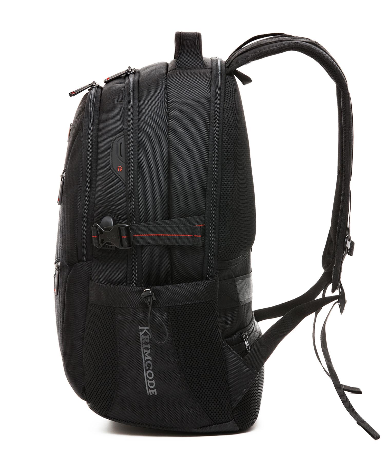 krimcode business formal backpack side