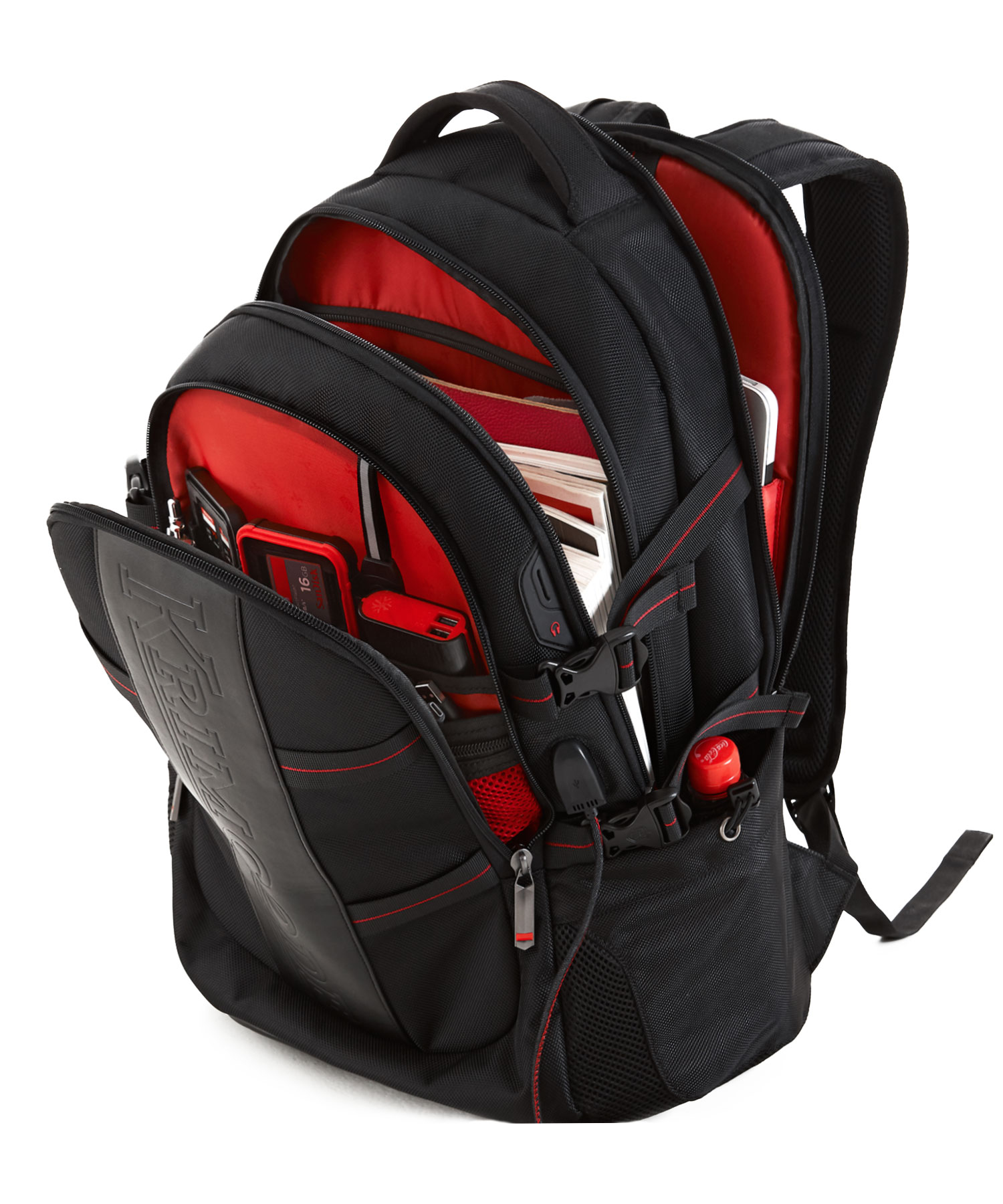 Krimcode Business Formal Notebook Backpack All compartment