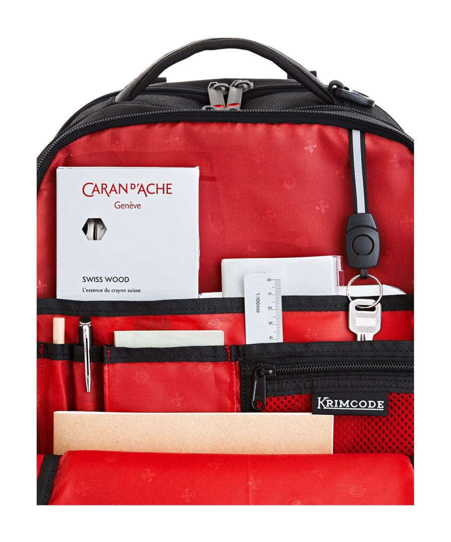 Krimcode Business Formal Notebook Backpack – KSCB11-1U0SM – Detail 4