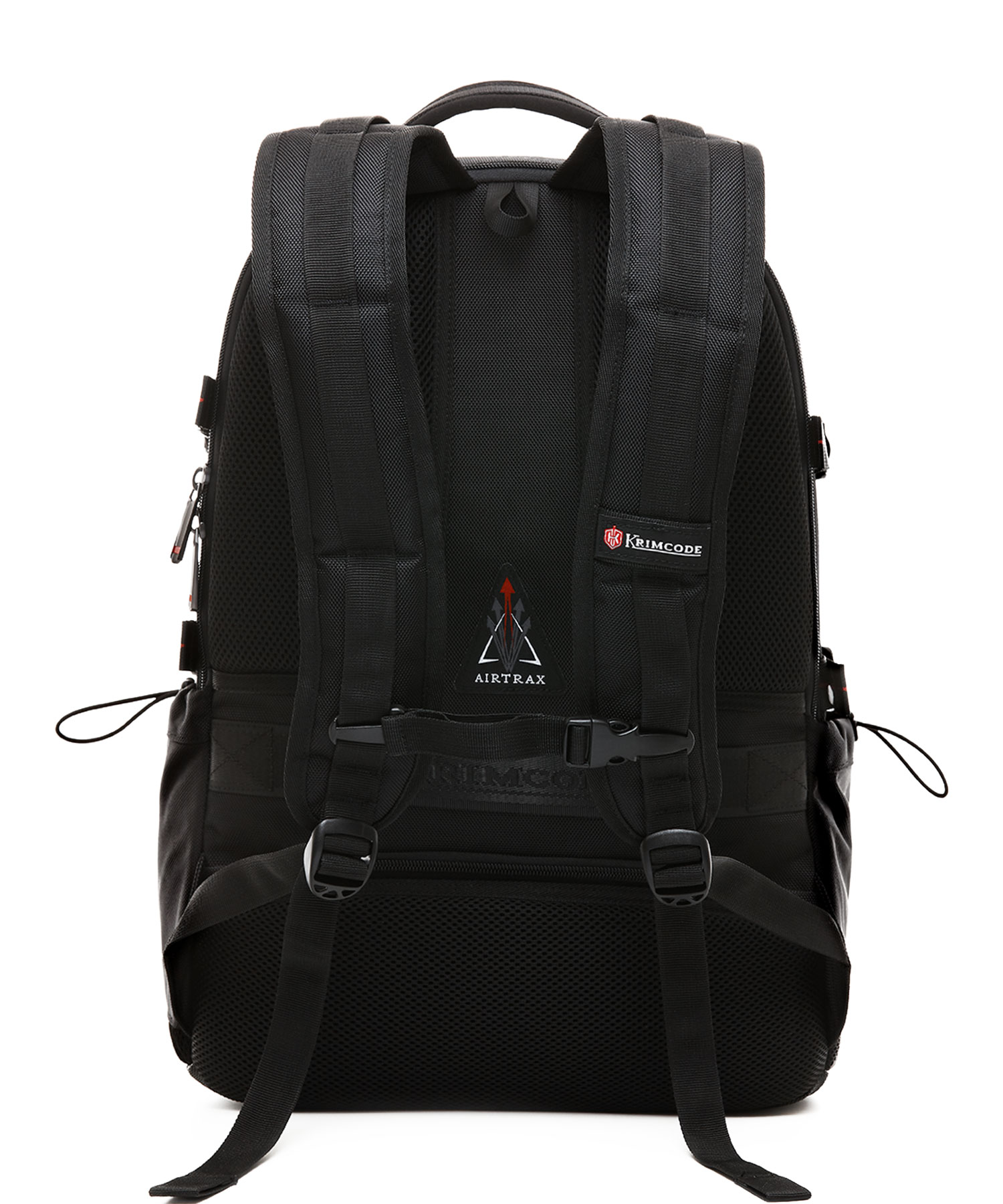 Krimcode Business Formal Notebook Backpack Back