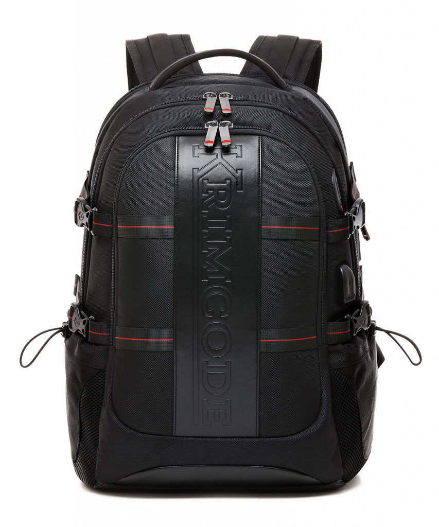 cool backpacks for men - Krimcode Business Formal Notebook Backpack Front