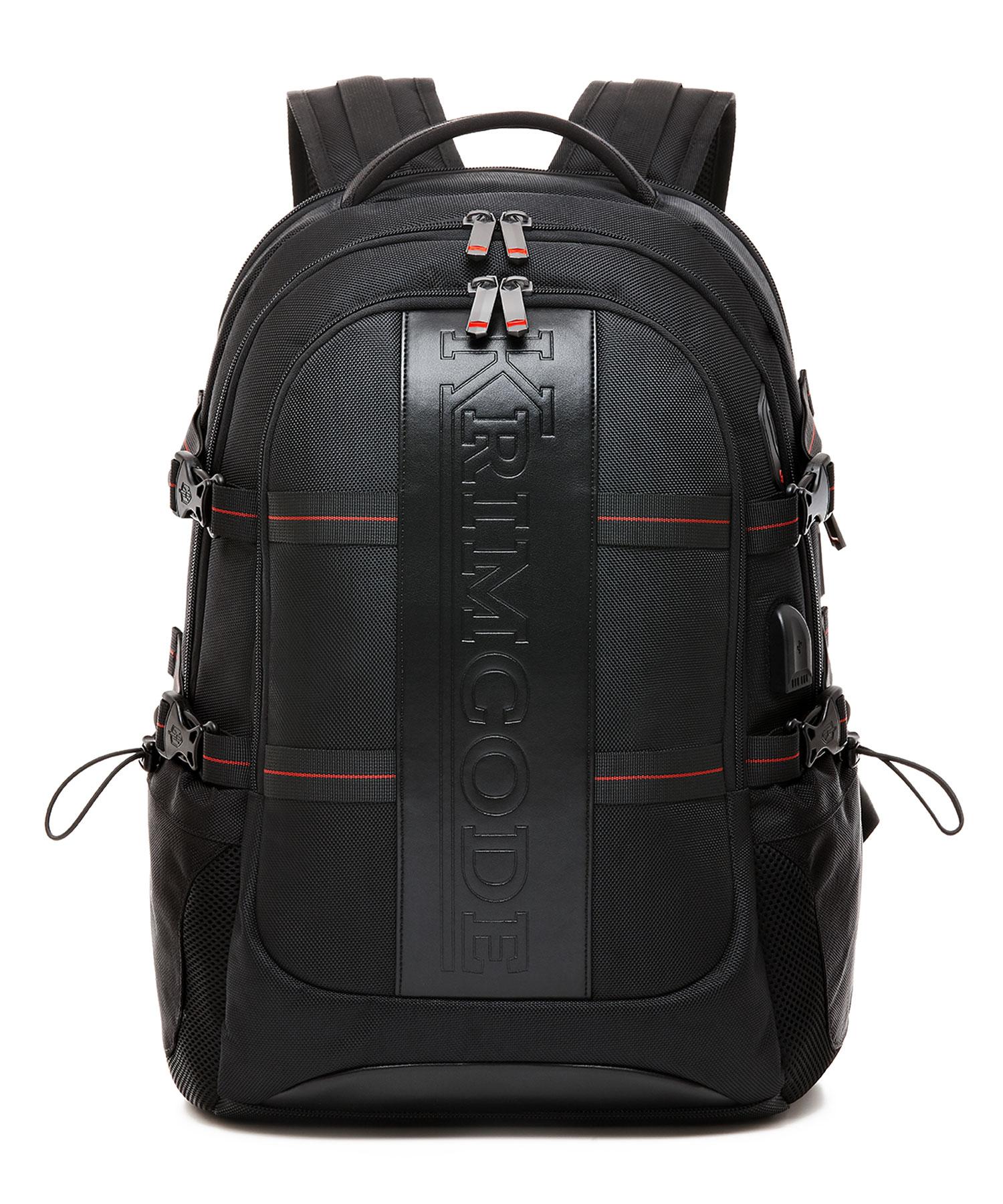 Krimcode Business Formal Notebook Backpack Front