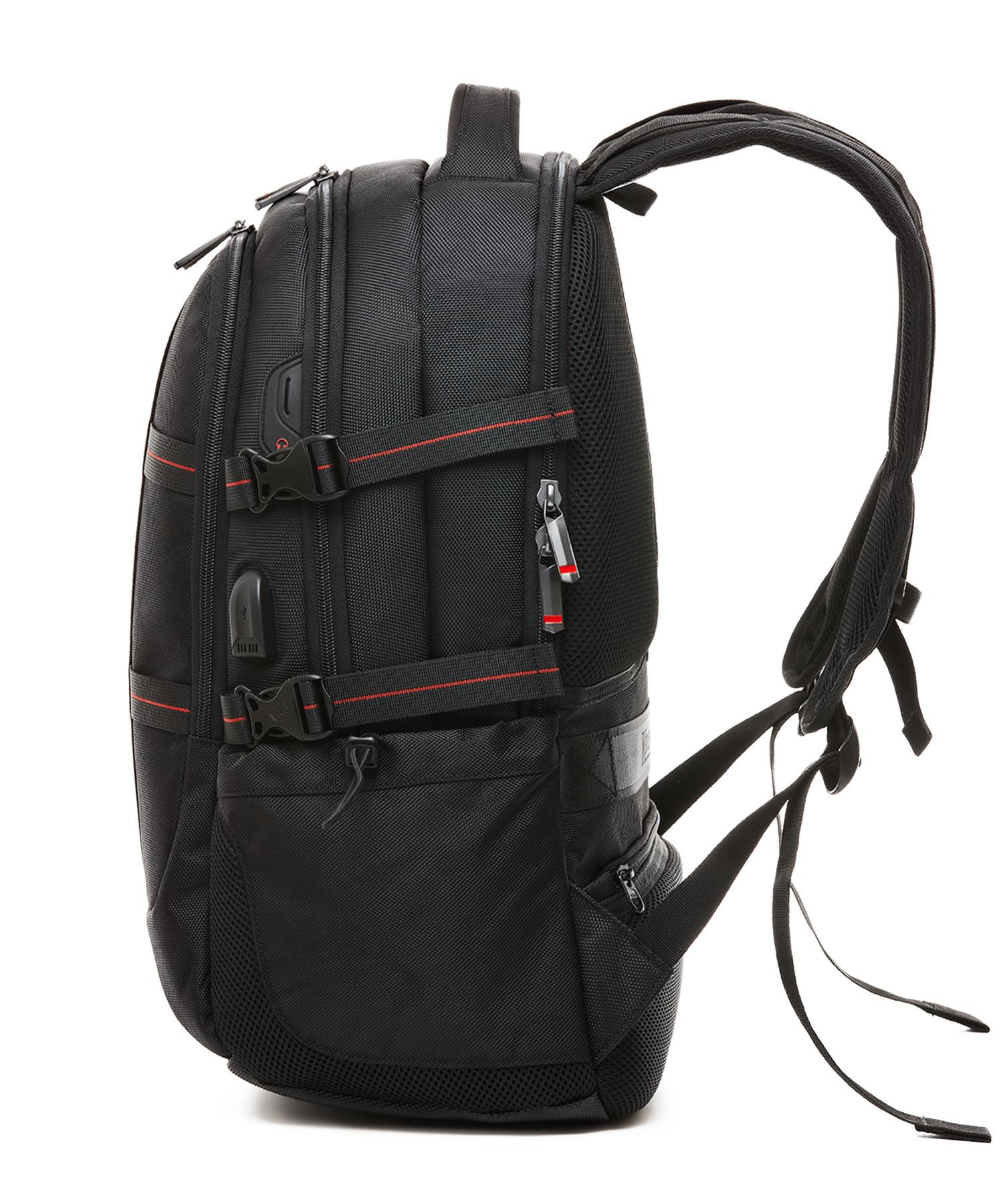 Krimcode Business Formal Notebook Backpack Side