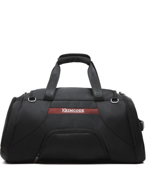 Krimcode Sport Attire Duffle Bag – KSTL01-1N0SM – back