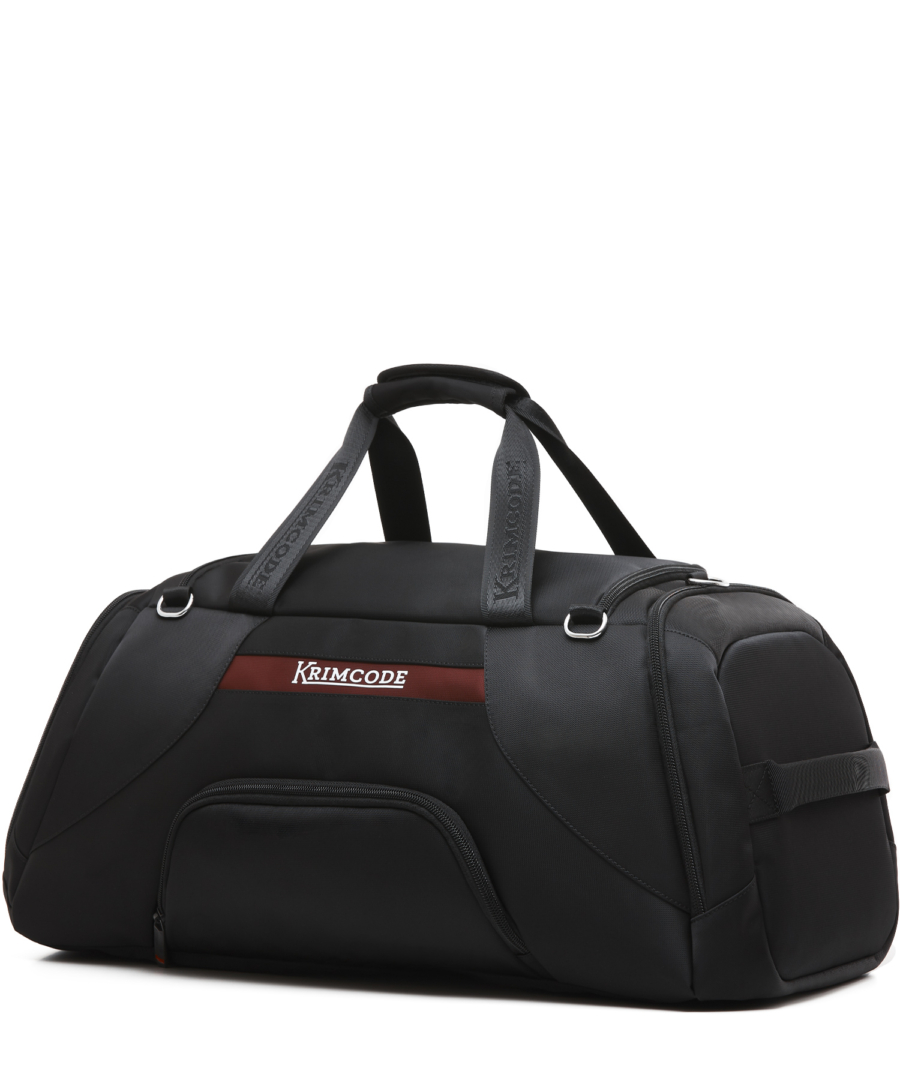 Krimcode Sport Attire Duffle Bag – KSTL01-1N0SM – perspective back