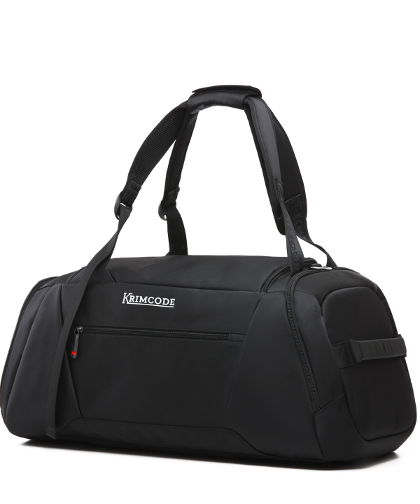 Krimcode Sport Attire Duffle Bag – KSTL02-1N0SM – perspective back