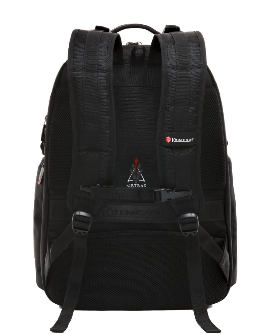 Krimcode Street Casual Notebook Backpack – KSTB13-1N0SM – back
