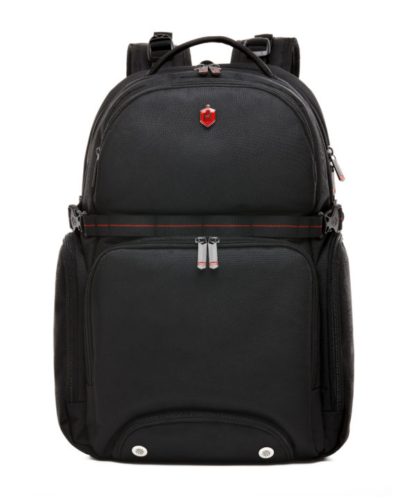 Krimcode Street Casual Notebook Backpack – KSTB13-1N0SM – front
