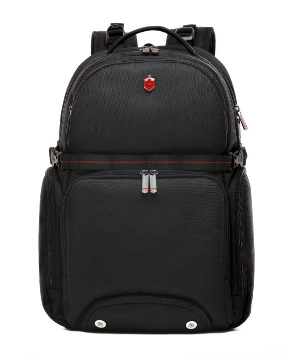 Krimcode Street Casual Notebook Backpack – KSTB13-1N0SM – front