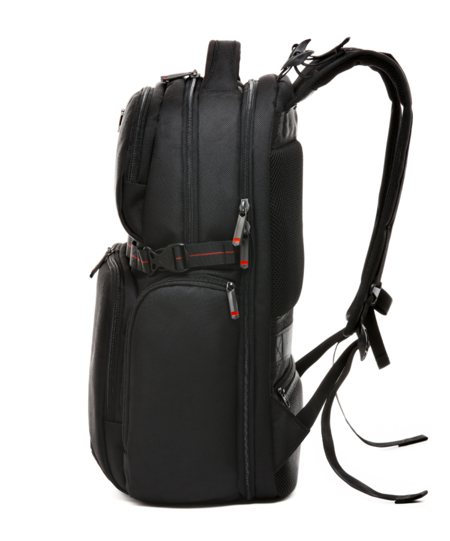 Krimcode Street Casual Notebook Backpack – KSTB13-1N0SM – left
