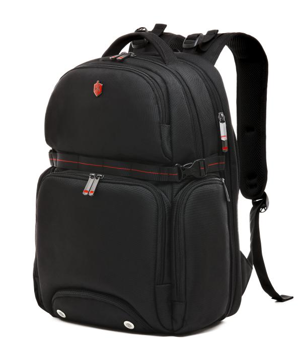 Krimcode Street Casual Notebook Backpack – KSTB13-1N0SM – perspective