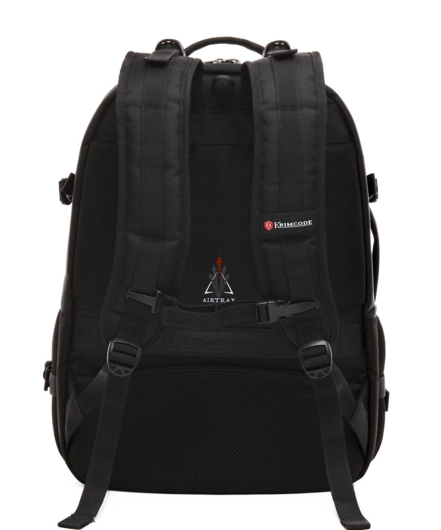 Krimcode Street Casual Notebook Backpack – KSTB14-1N0SM – back