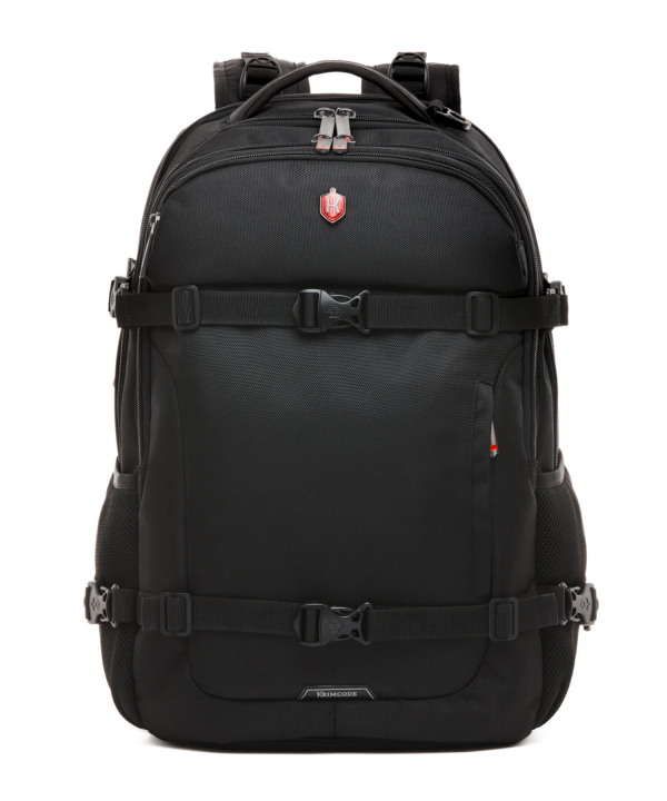 Krimcode Street Casual Notebook Backpack – KSTB14-1N0SM – front