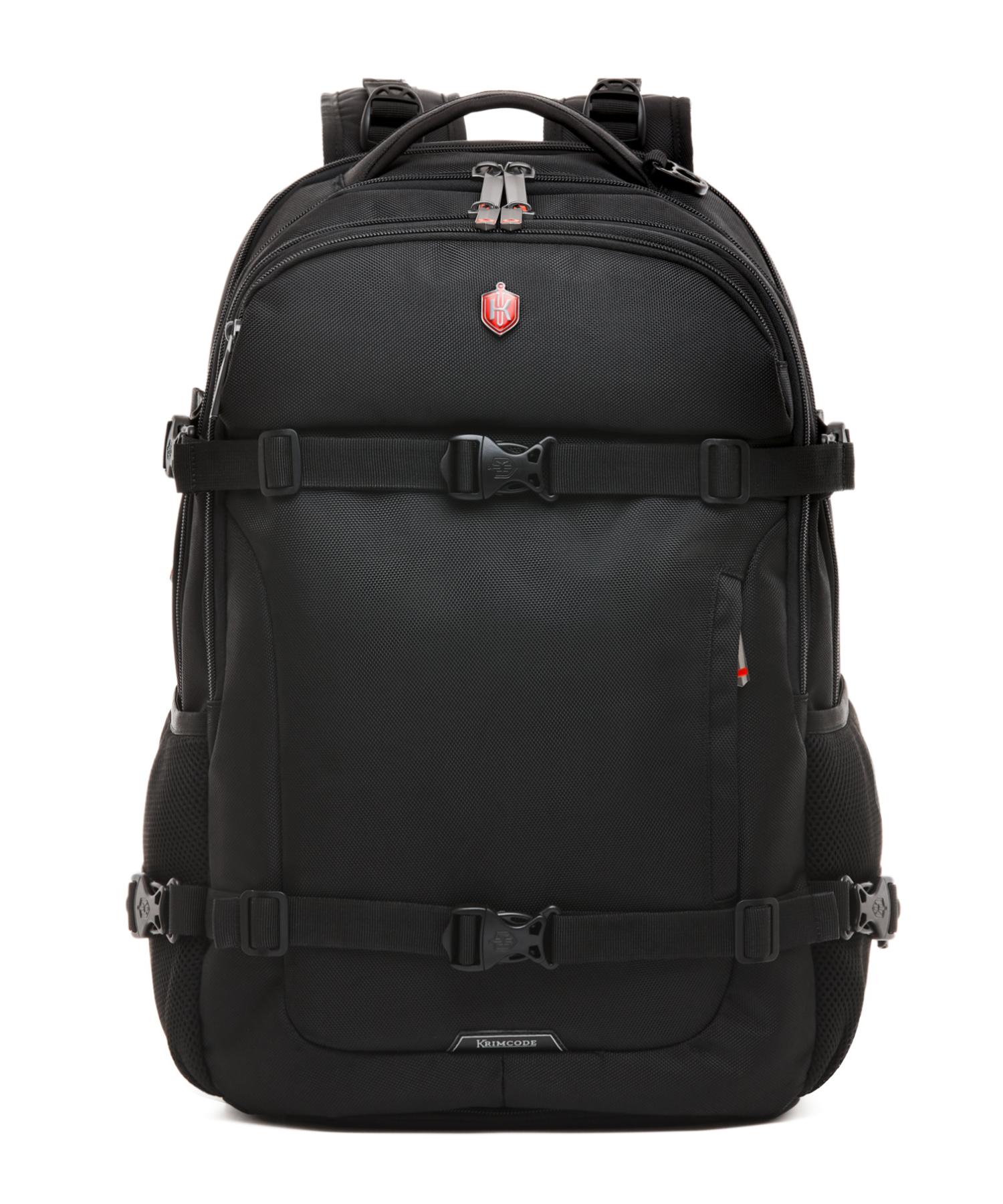 Krimcode Street Casual Notebook Backpack