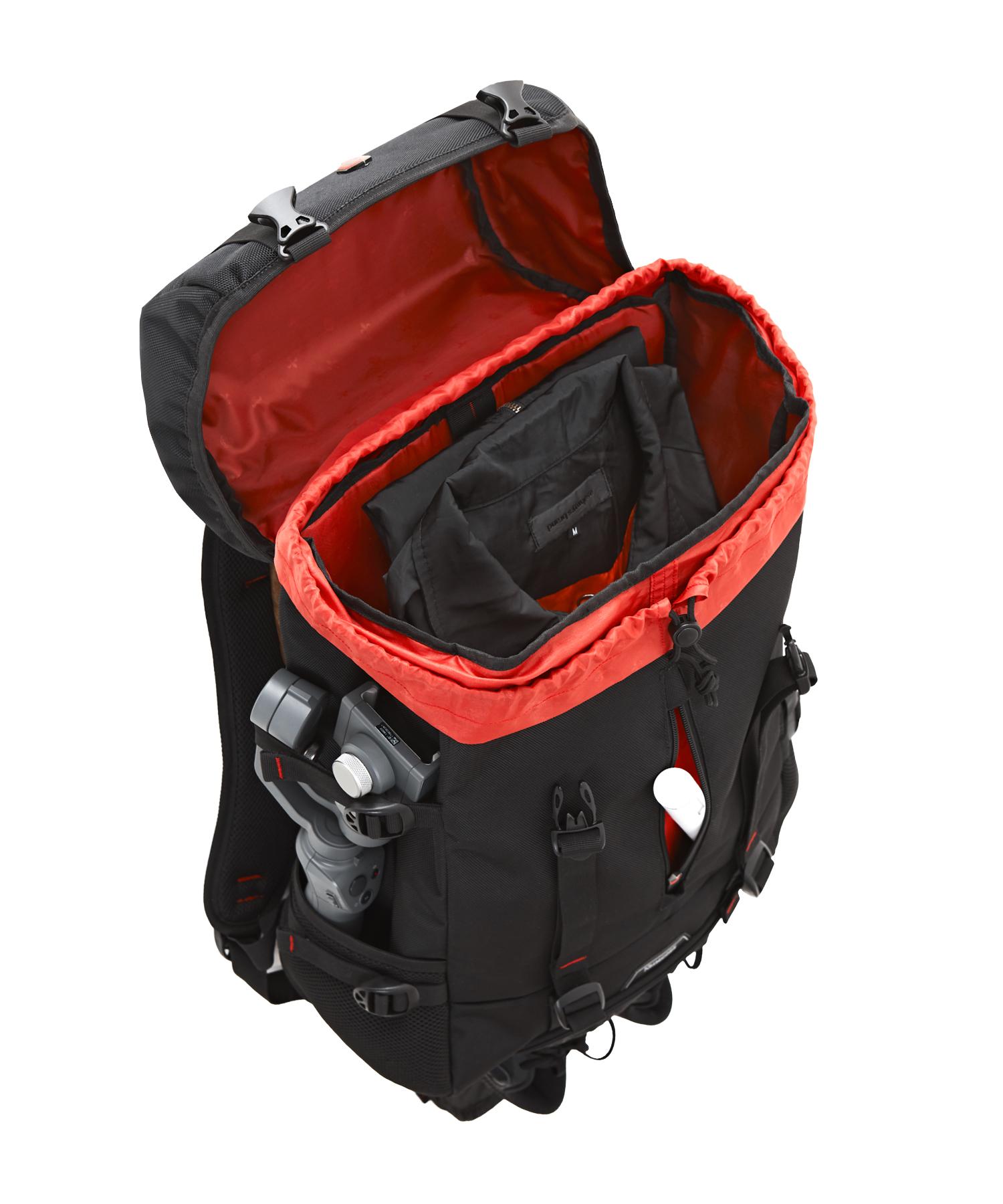 krimcode street backpack open top lid