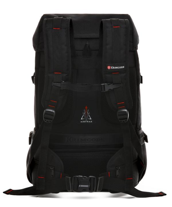 Krimcode Street Casual Notebook Backpack – KSTB21-1N0SM – back