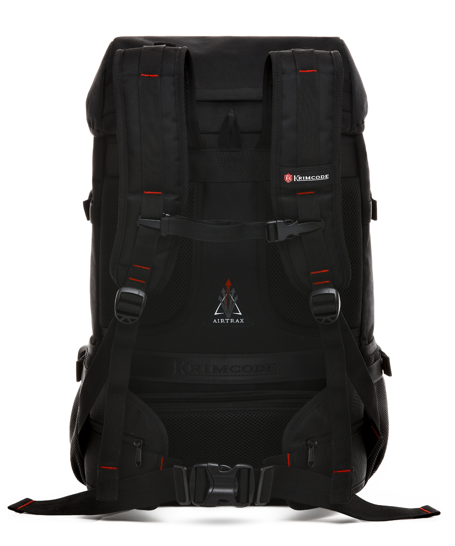 back perspective of krimcode backpack