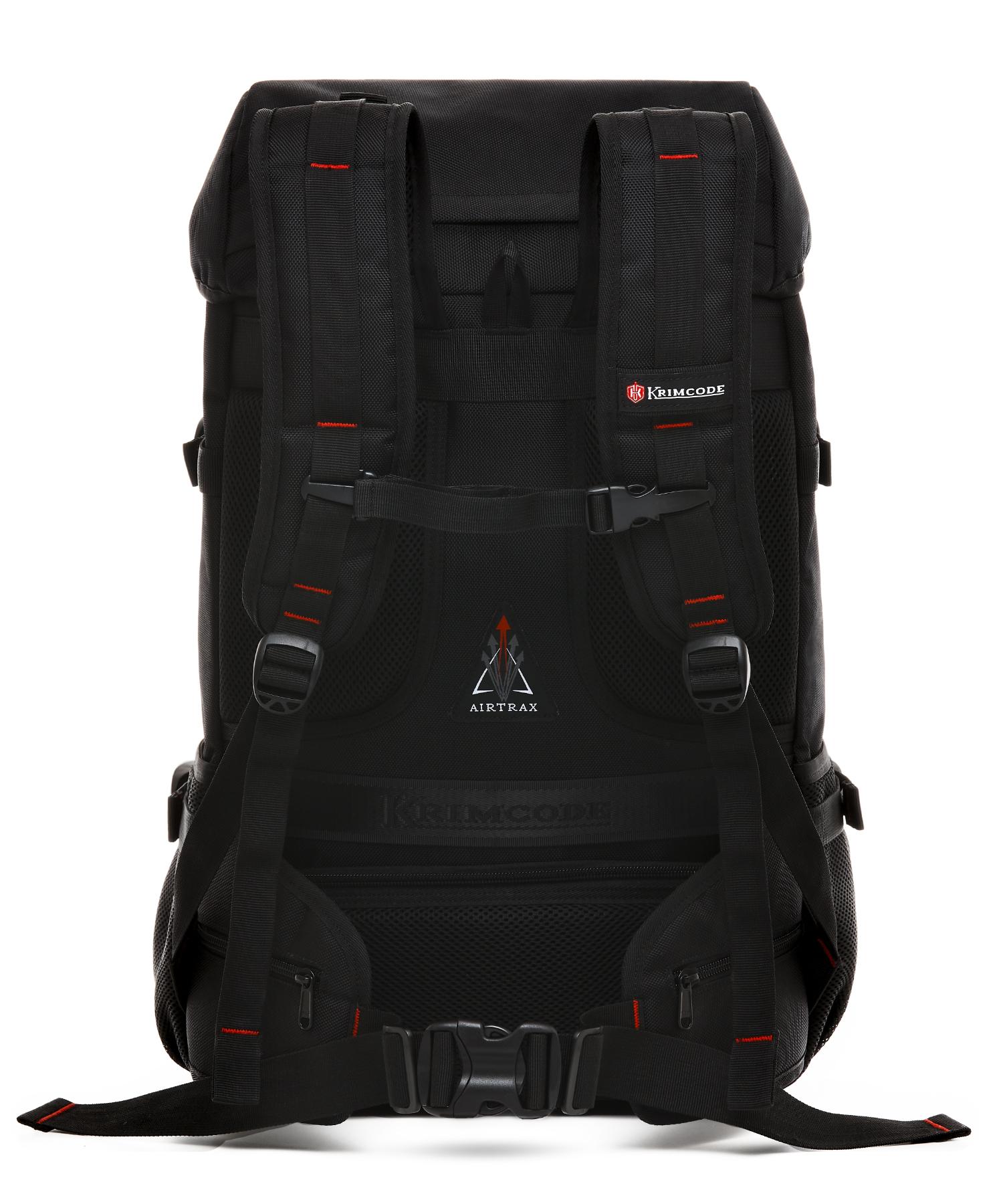 back perspective of krimcode backpack