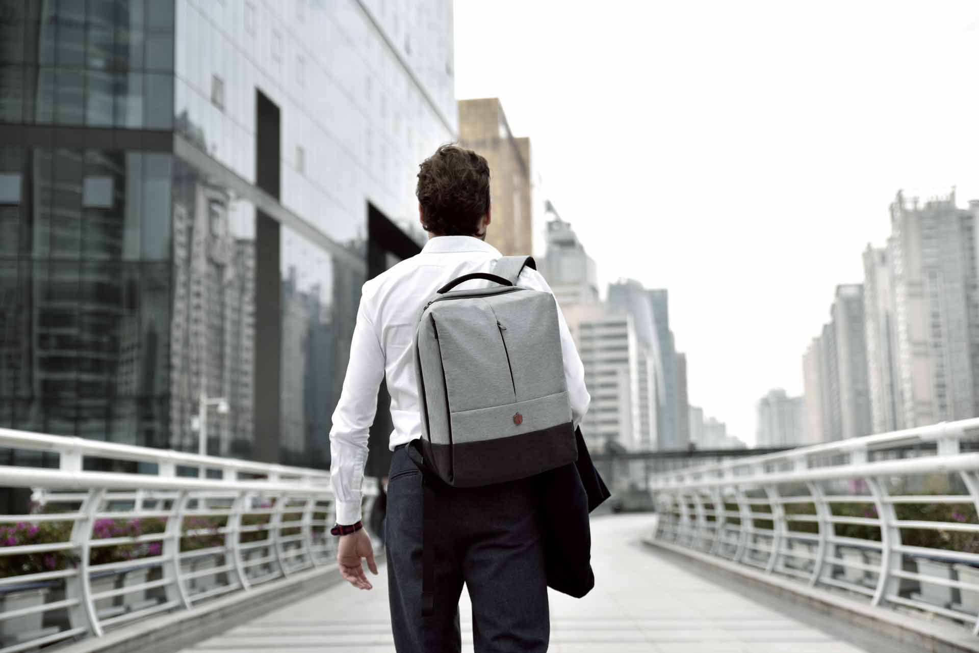 Krimcode Lifestyle Bag - Business Formal Backpack