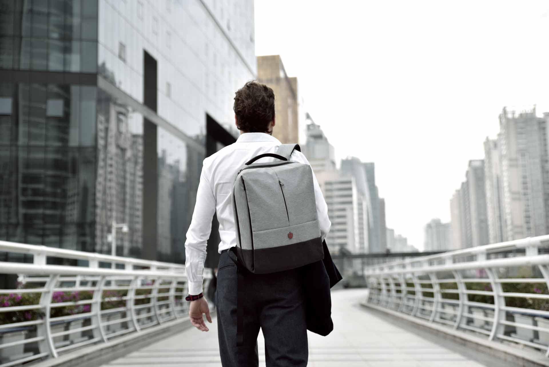 Krimcode Lifestyle Bag - Business Formal Backpack